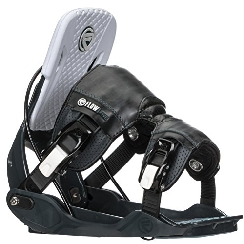Flow Five Fusion Snowboard Bindings 2018 - Men's Slate Large