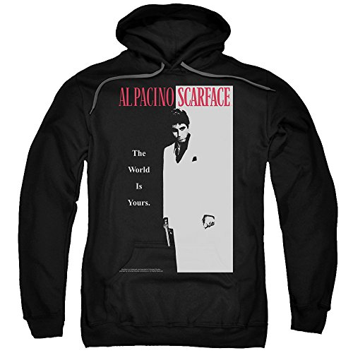 Scarface Al Pacino Drug Crime Drama Movie 1983 Classic Adult Pull-Over Hoodie
