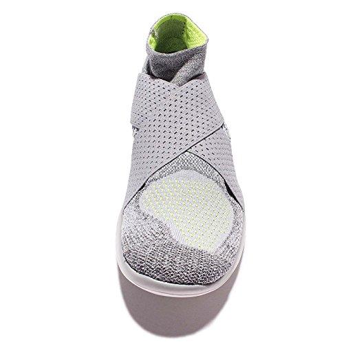 Nike Heren Gratis Rn Motion Flyknit 2017 Loopschoenen (10,5 D (m) Ons, Wolf Grijs / Zwart-cool Grey-volt)