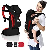 Little TiB Ergonomic Baby Carrier, New Slim Look with Hoodie, Backpack for Men and Women, Organic, All Season, Carriers for Newborn, Kids with Cover Accessories