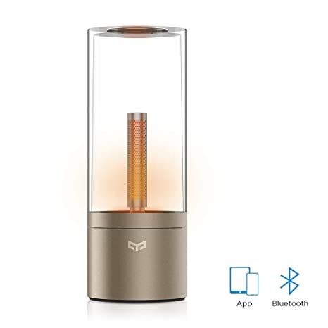 Amazon.com: YEELIGHT YLFW01YL Candela, recargable Smart LED ...