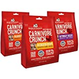 Stella & Chewy's Carnivore Crunch Variety Pack of 3 - Beef, Chicken, and Turkey (3.25 oz Each)