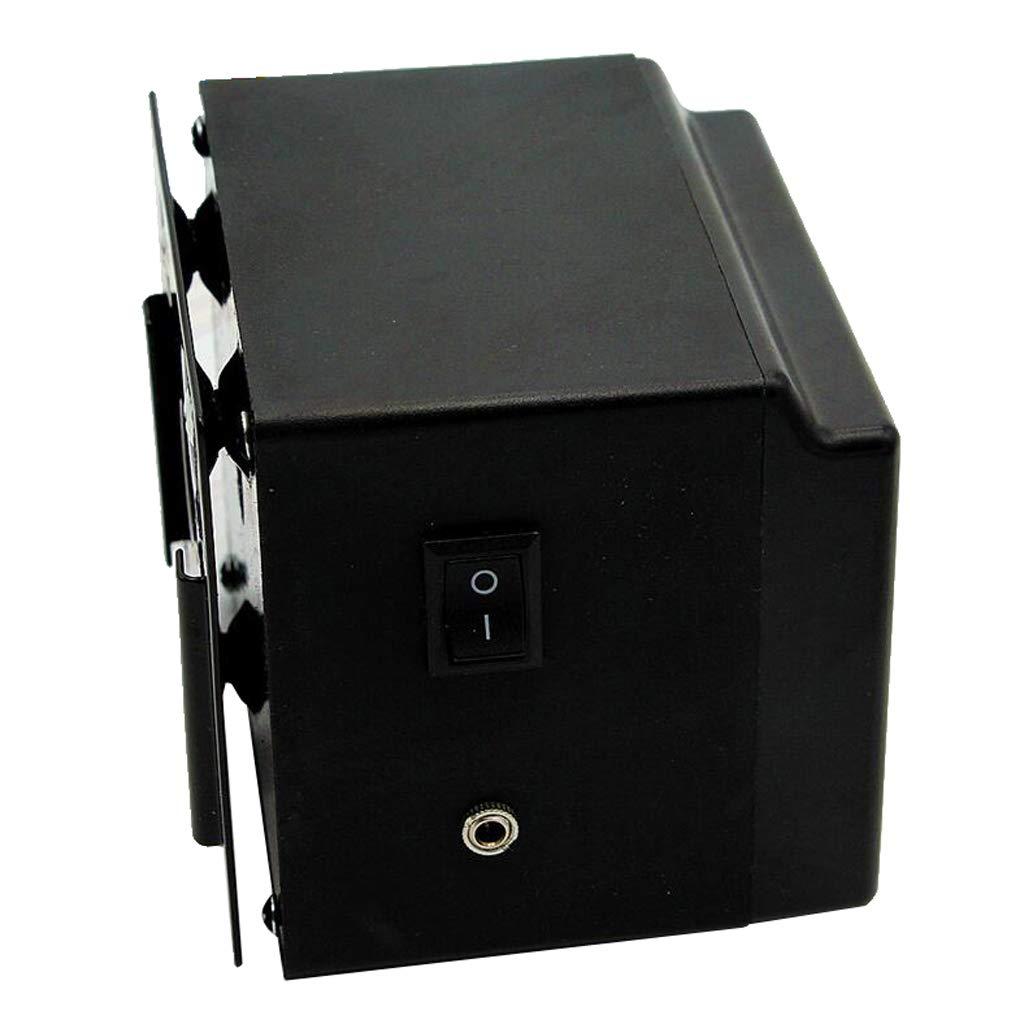 Homyl Universal Grills Rotisserie Kit Barbecue Rotator Motor Battery Powered DC 3V Cordless