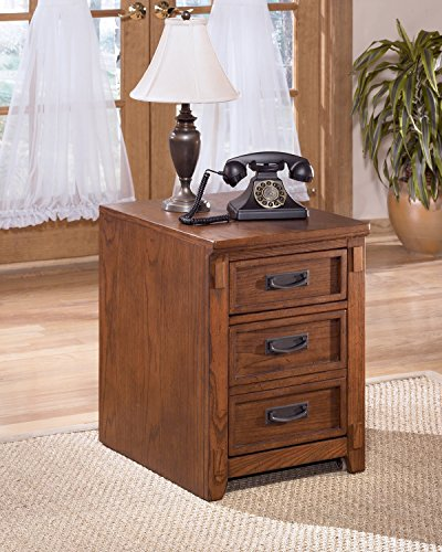 Cheap Crossingland Medium Brown File Cabinet