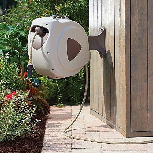TisYourSeason Retractable Garden Hose Reel, 50-Foot & 100-Foot (50)