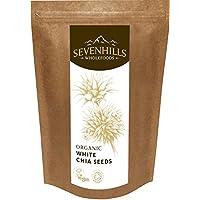 Sevenhills Wholefoods Semillas de Chia Blanco Crudas Orgánico