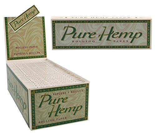 50pk Pure Hemp Single Wide Rolling Papers - Single Hemp