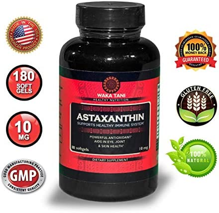 Astaxanthin Antioxidant Anti inflammatory Carotenoid Supplement