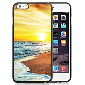Beautiful Custom Designed Cover Case For iPhone 6 Plus 5.5 Inch With Beautiful Sunset Seaside 640x1136 Phone Case Cover