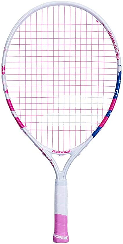 Babolat B/'fly 21 Youth Pink Tennis Racket and Carry Case Cover
