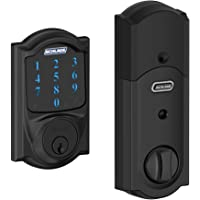 Schlage Connect Camelot Touchscreen Deadbolt with Built-In Alarm