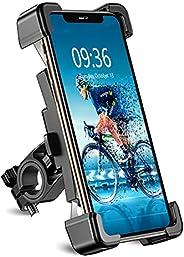 Bike Phone Mount, TEUMI Detachable 360° Rotate Motorcycle Phone Mount, Handlebar Bicycle Phone Holder Compatib