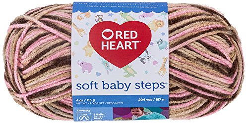 - Red Heart Soft Baby Steps Yarn, Cherry Cola