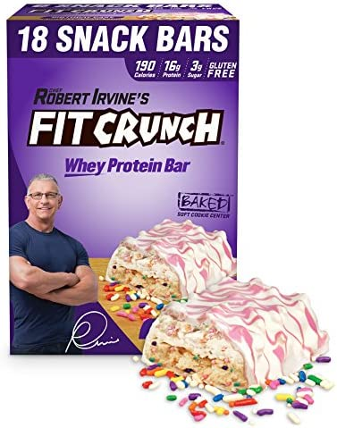 FITCRUNCH Protein Designed 6 Layer Birthday product image