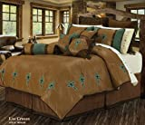 HiEnd Accents Las Cruces 5-Piece Comforter Set, Full