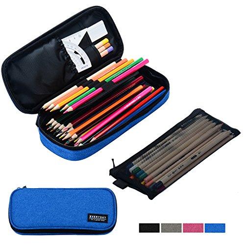Large Pencil Zipper Pouch dodgerblue product image