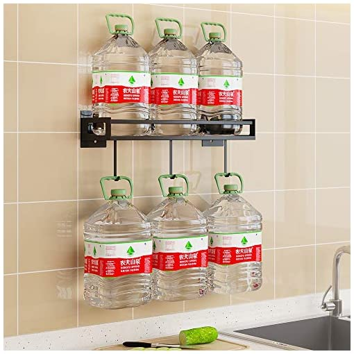 Kitchen Wall Mount Spice Rack Organizer For Cabinet Kitchen,Wall Spice Rack ,Hanging Seasoning Rack With Utensil Holder, Over… spice racks