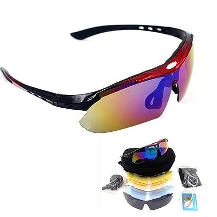 Amazon.com: Pevor - Gafas de sol polarizadas para ciclismo ...