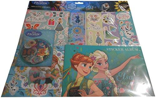 Anker Disney Frozen Mega Sticker Set, Album Stickers, Book Sheets and Sticker - Stone Anker