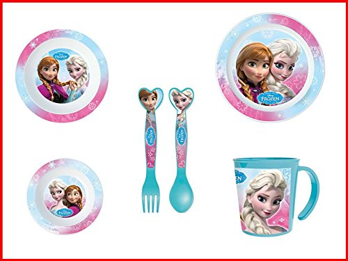 Disney Frozen, 0054, Vajilla infantil apta para microondas ...