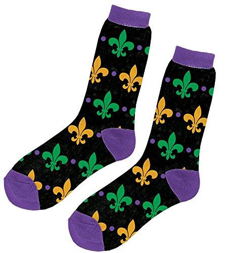 Amscan 250780 Crew Socks, One size, Multicolor]()