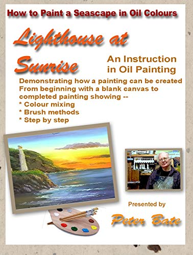 How to Paint a Seascape - Lighthouse at Sunrise