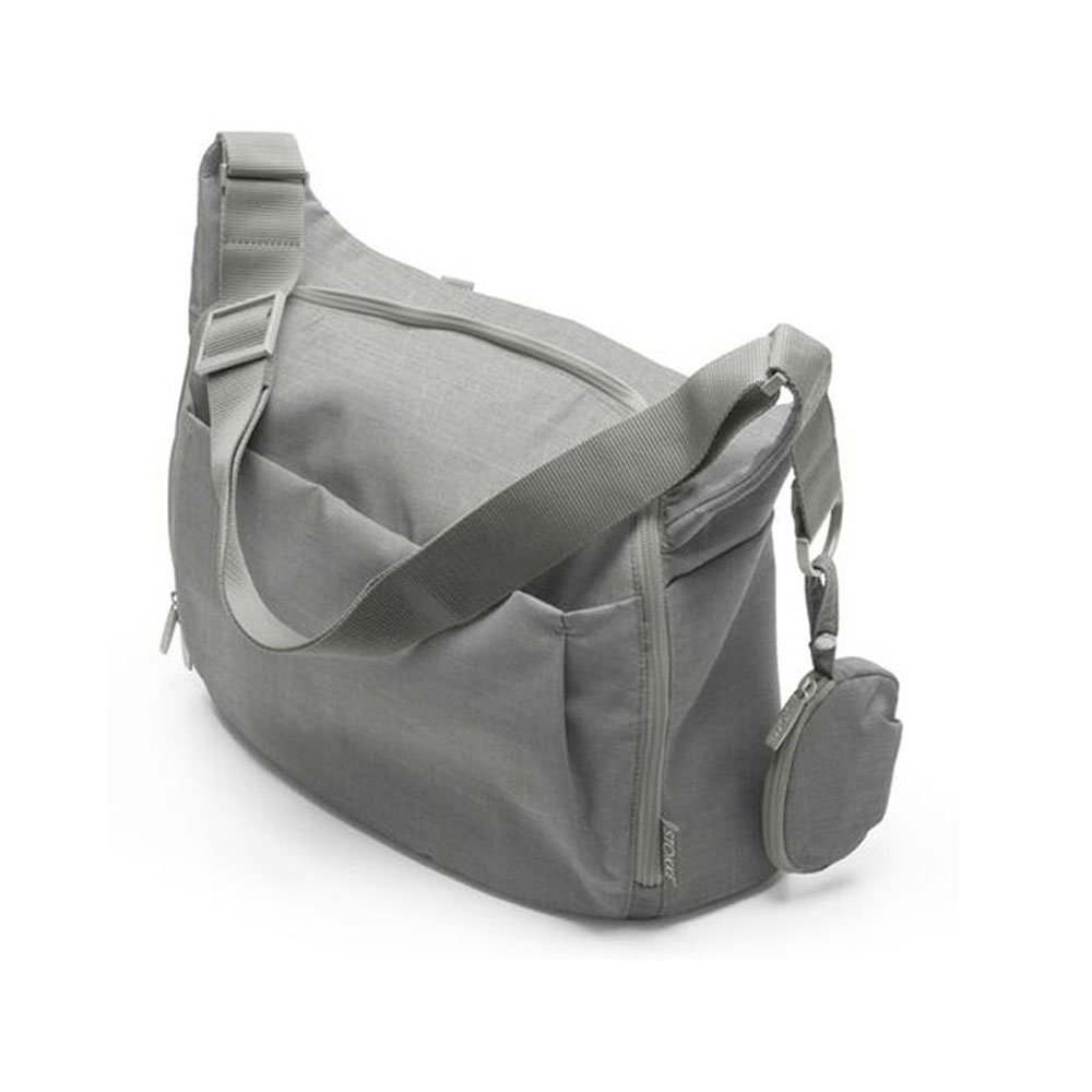 Stokke Xplory Changing Bag (Grey Melange) by Stokke