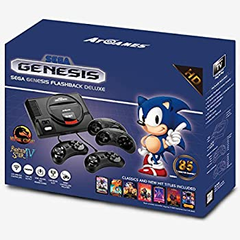 SEGA Genesis Flashback HD Console with 85 Games and 4 Controllers