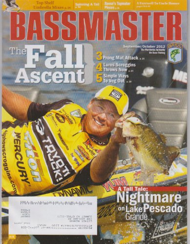 Bassmaster Magazine September October 2012 The Fall Ascent