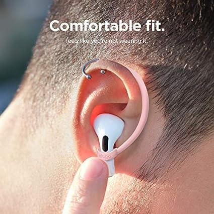 US Patente Registrado Lovely Rosa elago Ear Hooks Gancho de Oreja AirPods Pro Dise/ñado para Apple AirPods Pro y AirPods 1 /& 2