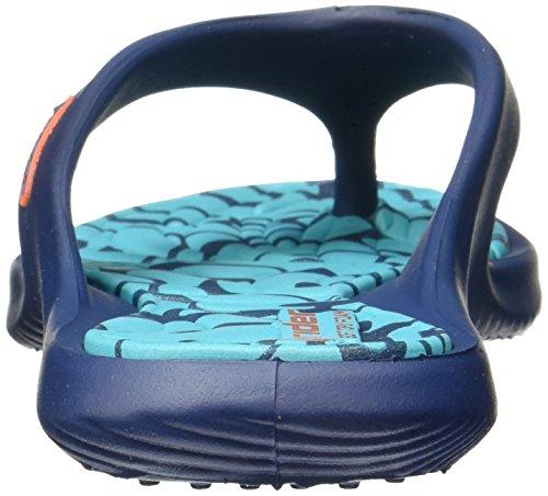Rider Island VIII Flip flops / sandalias de las mujeres Blue