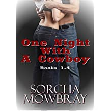 One Night With A Cowboy: (Books 1-4)