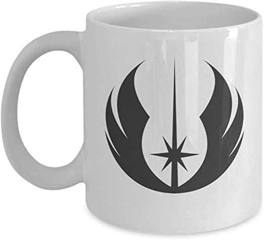 Rebel alliance symbol Jedi master gift collectible cup Star Wars coffee mug