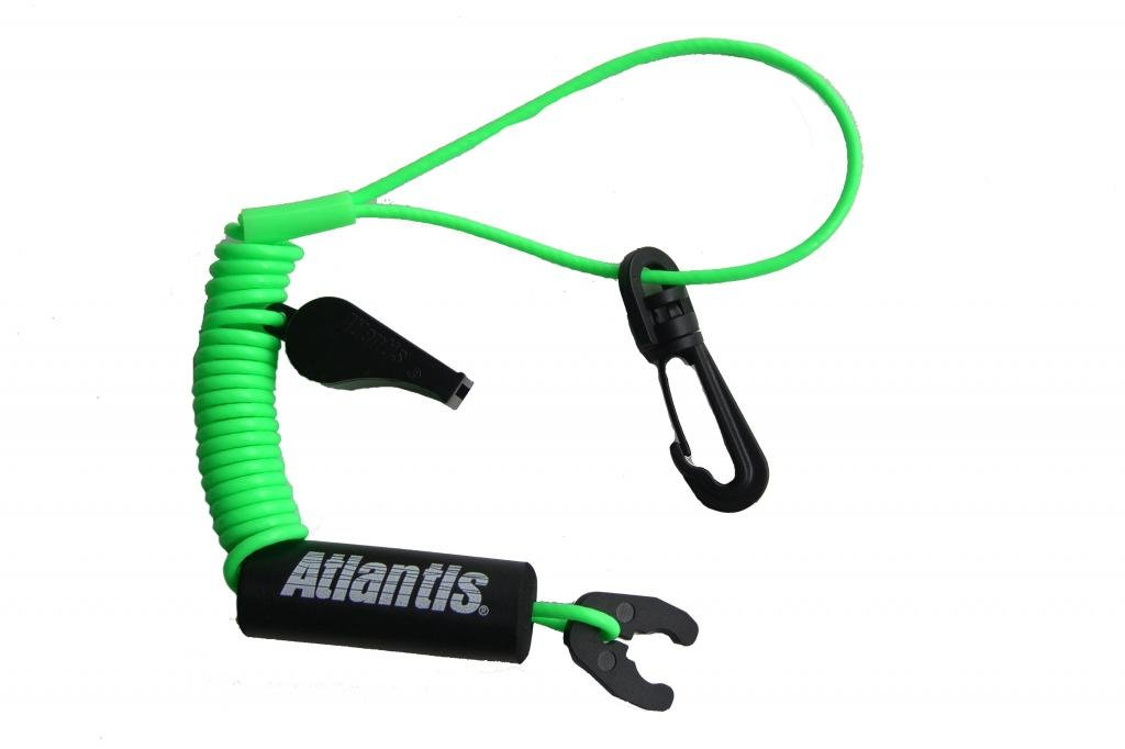 Atlantis A2100S Sport Lanyard Neon Green Kawaski Honda Polaris Wet Jet Tiger Shark