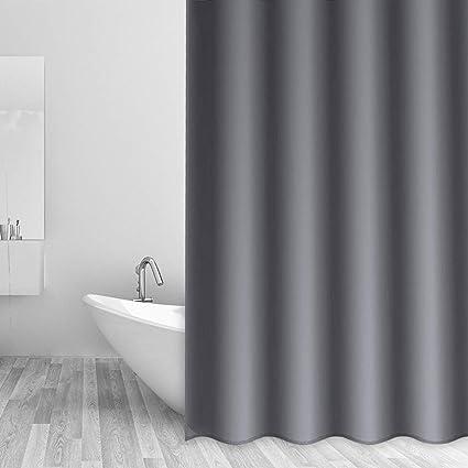 CentralPark Shower Curtain Liner 70quot X 72quot Microfiber Waterproof Mildew Resistant Machine Washable
