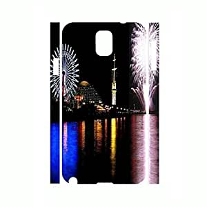 Cool Romantic Collection Wheel Sky Night Light Design Hard Plastic Case Cover for Samsung Galaxy Note 3 N9005 Case Kimberly Kurzendoerfer