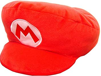 d85b42690ae Image Unavailable. Image not available for. Colour  Super Mario Brothers   Mario  Hat Cushion ...