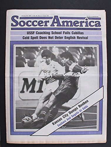 fan products of SOCCER AMERICA KANSAS CITY DUMPS BENBEN SOCKERS AND SEGOTA AT ODDS JAN 29 1987