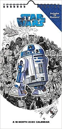 Fiction Trends 2020.Amazon Com Star Wars 2020 Mini Poster Calendar