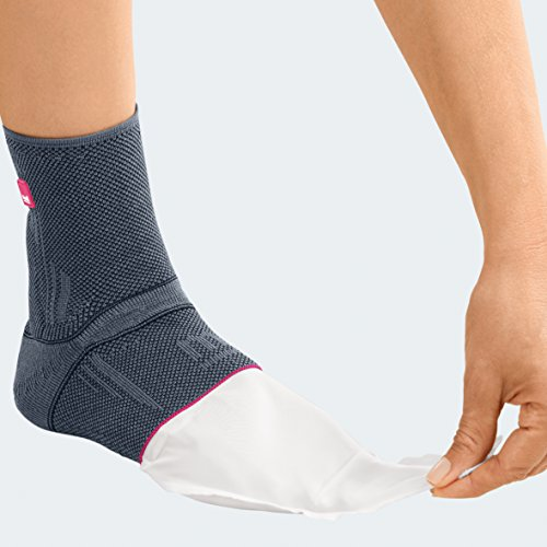 Medi Achimed Knit Ankle Support for Men & Women (Silver) Size IV by Medi Ortho (Image #3)