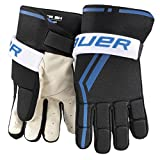 Bauer Junior Street Hockey Players Glove (Pair), Black, Medium