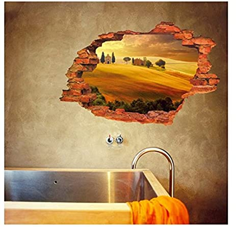 Amazon.com: Super DIY The 3D Landscape painting Creative personality ...