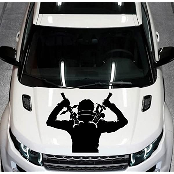 Ninja Warrior Cartoon Car Bumper Sticker Decal /'/'SIZES/""