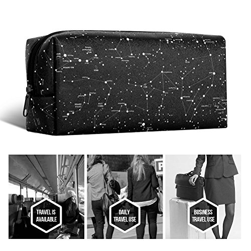 Ayotu Lightweight Waterproof Storage Pouch Bag Case Electronic Accessory Organizer for MacBook Laptop Power Adapter, Mouse, Data Cables, Cellphone, Power Bank etc Various Styles-The Horoscope by Ayotu (Image #6)