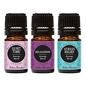 Edens garden de stress essential oil set - Edens garden essential oils amazon ...
