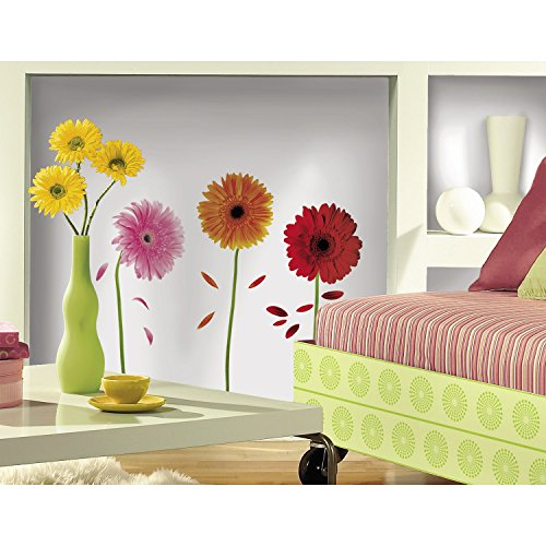 large flower wall decals - 6