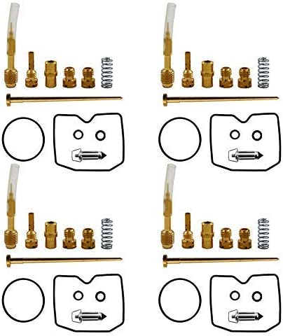 Carburetor Rebuild Repair Kit for Suzuki GSF600S Bandit 1996-2003 Pack of 4