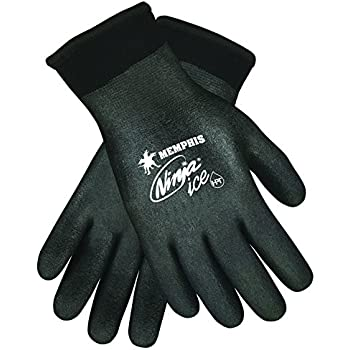 Amazon.com: CRWN9680M - Ninja Flex Latex-Coated Palm Gloves ...