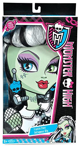 Monster High Frankie Stein Wig, Black and -