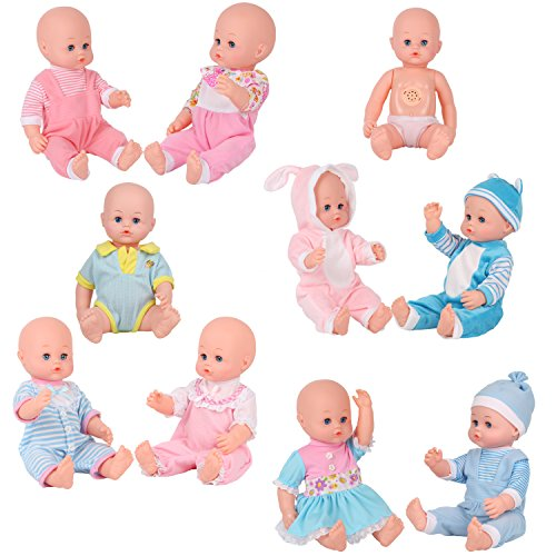 9 Sets For 14 16 Inch Alive American Girl Clothing Dress Baby Doll
